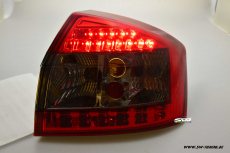 SW-Light LED taillights Audi A4 B6 8E Limousine 01-04 red/smoke