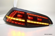 SWLight LED taillights VW Golf VII Type AU 12-16 black/smoke GTI-Look (also Series LED)