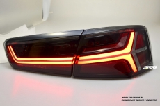 SW-Celi LED taillights Audi A6 4G Sedan 11-14 black smoke Lightbar dynamic LED indicator
