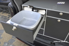 SW-Camper rear kitchen VANESS for VW T5 / T6 Transporter / Caravelle