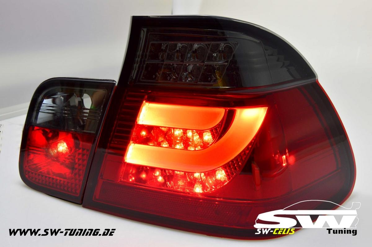 led taillights for e46 bmw 3er 4doors sedan 02 04 lci red black tuning online kaufen. Black Bedroom Furniture Sets. Home Design Ideas