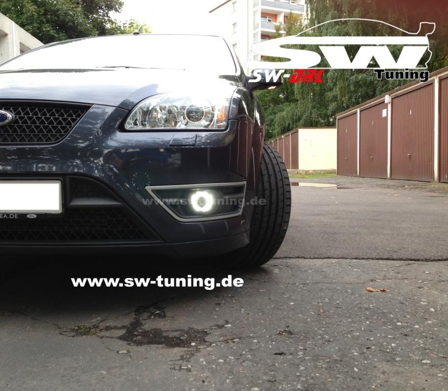 LED Fog lights with LED DRL R87 for Ford Focus Mk2 08-11 ...