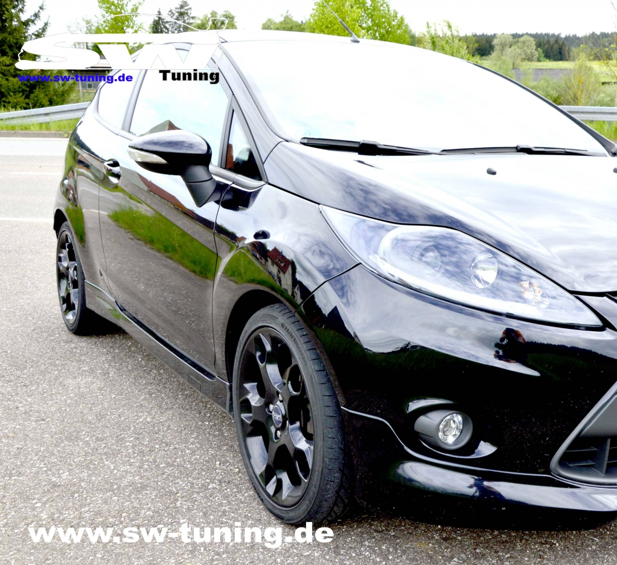 tdm seitenschweller sport look f r ford fiesta mk7 ja8 08 12 3t rer tuning online kaufen. Black Bedroom Furniture Sets. Home Design Ideas