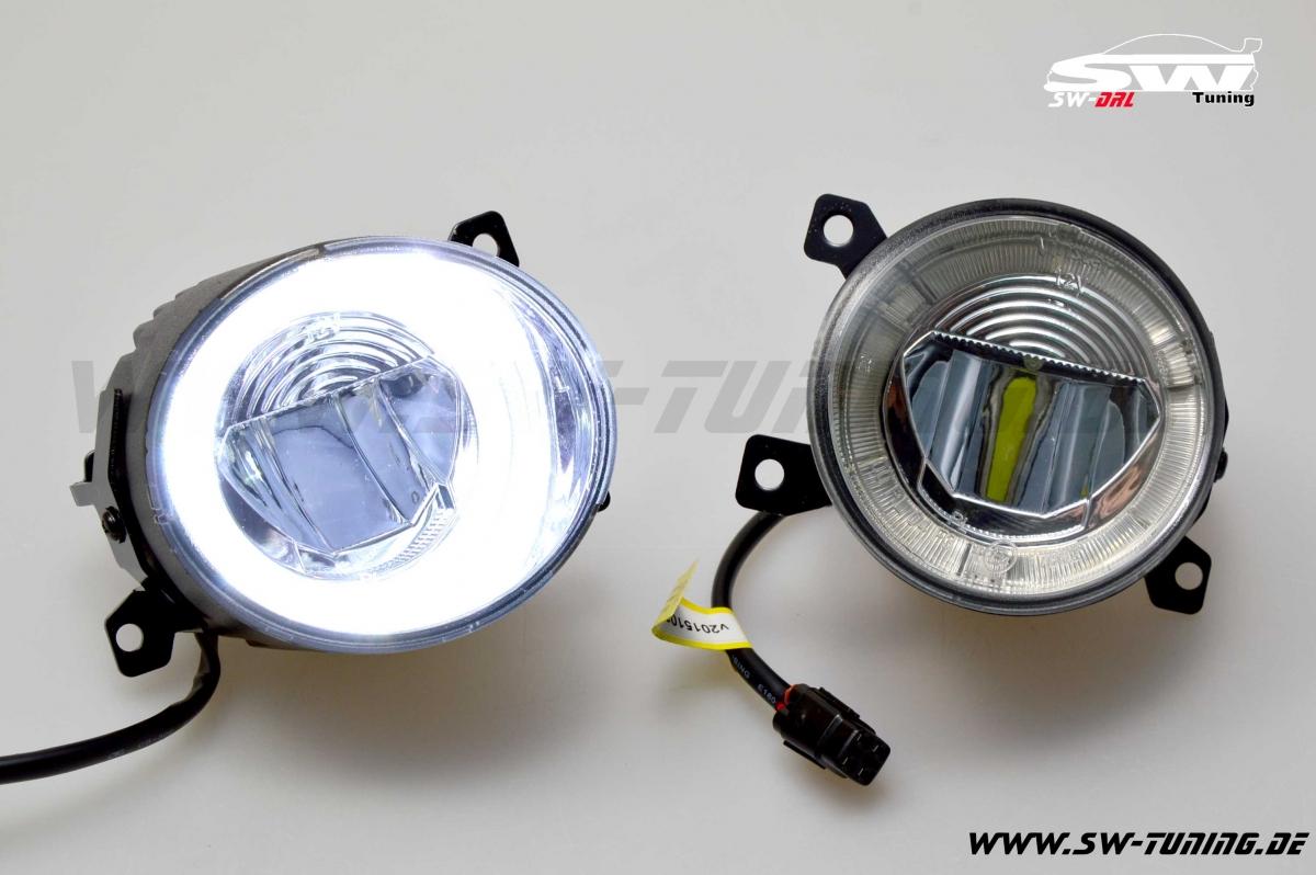 Full LED drl fog-light VW Scirocco 3 Jetta V Amarok UP Golf 5 only GTI | MII Citigo - tuning ...