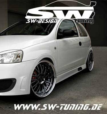 Ongekend Opel Corsa C 00-06 sideskirts sw-look 3doors - tuning online kaufen RI-54