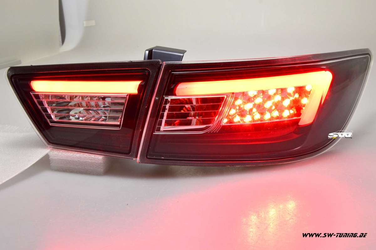 SWCELis LED taillights for Renault Clio IV 13-17 black 4doors - tuning online...