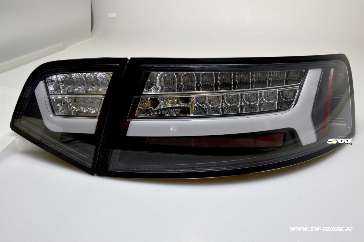 Sw celi led taillights for audi a6 4f c6 facelift sedan 09 for Audi a6 4f interieur
